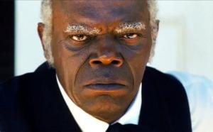 Samuel L. Jackson no papel do fiel serviçal
