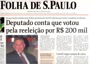 Também o jornal Folha de S. Paulo, se degrada o lulismo, entra na lista dos que são contra a imprensa livre