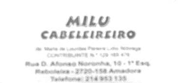 Filipeta do Milu Cabeleireiro, que pertence à sogra de Palmeirão de Melo, e há 30 anos funciona no endereço dado pela Happyfrontier, criada em 2008