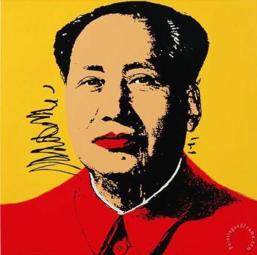 Mao Tsé-Tung por Andy Warhol: vê lá se revolucionários como ele, que colecinou mulheres, iria perder tempo com esse papo