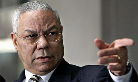 Colin Powell, poderoso Secretário de Estado Republicano de Bush, apoiou a eleição de Barack Obama sem titubear em 2008