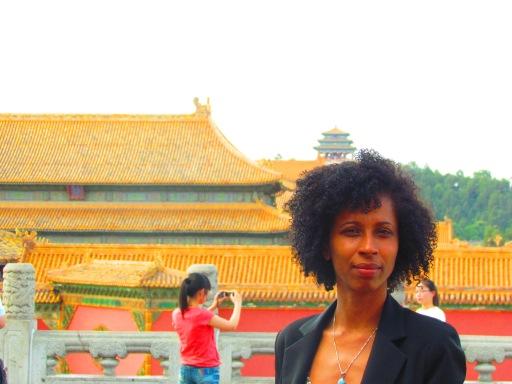 """Danila dentro da """"Cidade Proibida"""", que sobreviveu à """"Revoluçao Cultural"""" do PCC de Mao, em Beijing"""