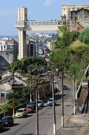 Aspecto de atrações turísticas que distinguem a capital baiana