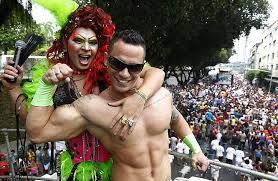 Foto do GGB clicada na Parada do Orgulho Gay ano passado