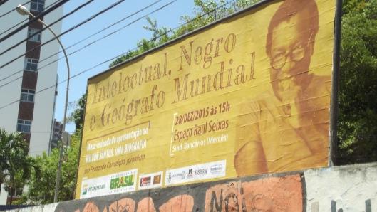 Outdoor nas ruas de Salvador divulga o lançamento