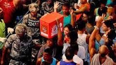Cena típica do Carnaval da alegria na Bahia