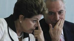 Dilma Rousseff e o escolhido para seu vice