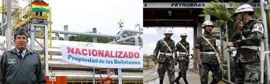 Militares da Bolívia tomam de assalto refinaria da Petrobras naquela país, sem um pio de Lula