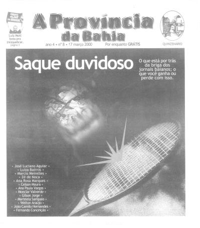 A partir de 2000 o jornal renovou seu design gráfico, agora sob a batuta de Luís Silva, que dividia seu tempo como diretor de arte da agência Propeg